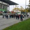 Friedlicher Fanprotest beim VfL-Training