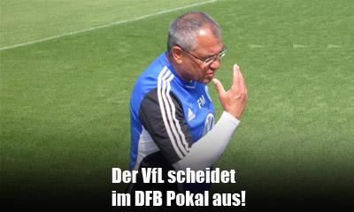 VfL Wolfsburg scheidet im DFB Pokal aus