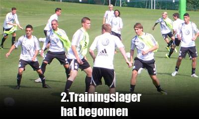 VfL Wolfsburg im Trainingslager