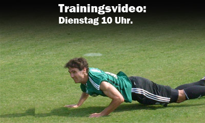 Trainings Dienstag