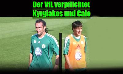 Kyrgiakos und Cale