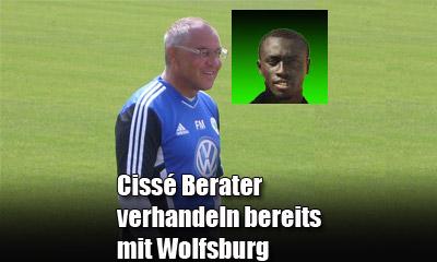 Cissés Berater verhandeln beretis mit dem VfL Wolfsburg
