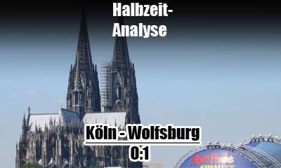 Köln gegen VfL Wolfsburg