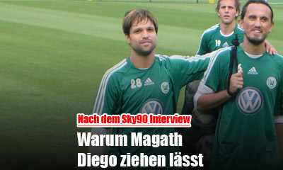 Warum Magath Diego abgeben will