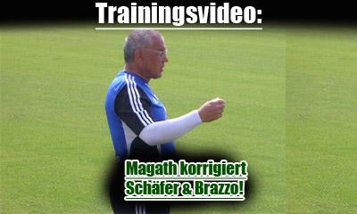 Felix Magath korrigiert Schäfer und Salihamidzic