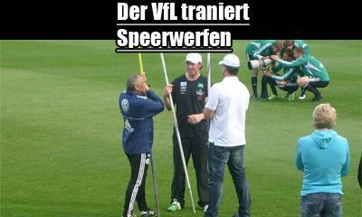 Speerwerfen VfL Wolfsburg