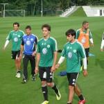 VfL Wolfsburg Trainings Ende