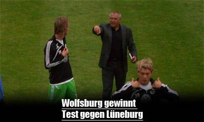 Testspiel Wolfsburg gegen Lüneburg