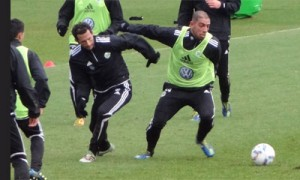 Training Dejagah Brazzo
