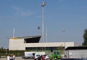 Stadiondach-Flutlicht