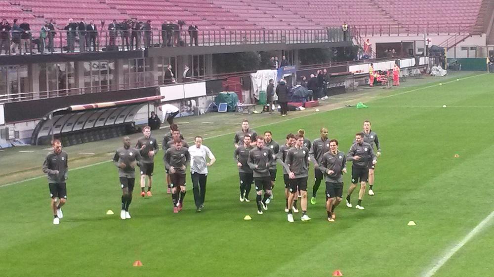 Team-in-Mailand
