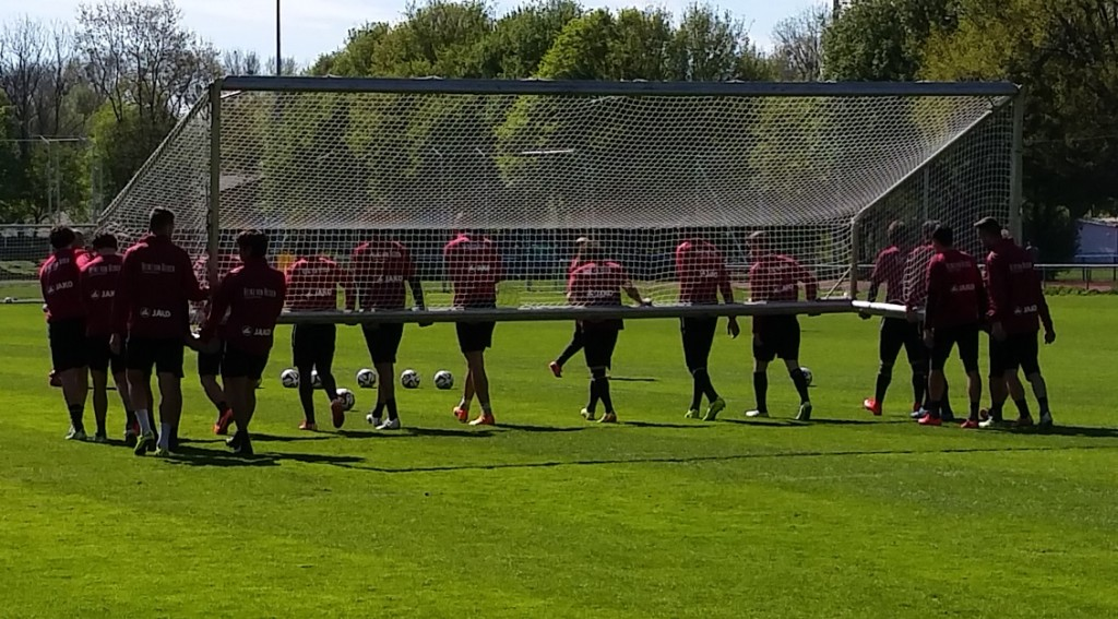 Hannover-Training-Tor