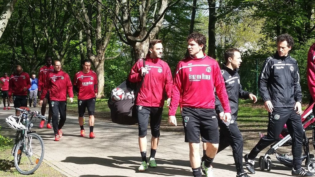 Hannover-Training1