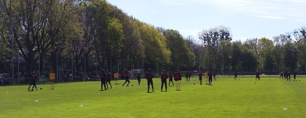 Hannover-Training2