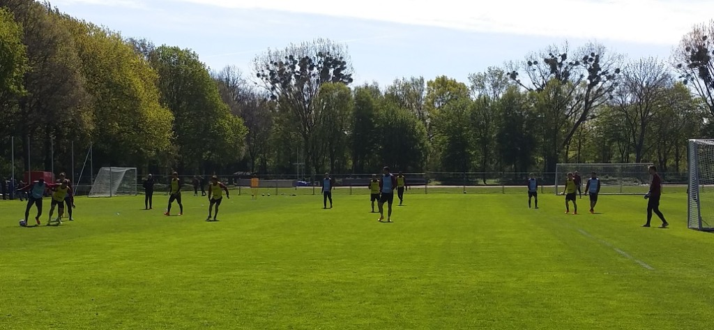 Hannover-Training3