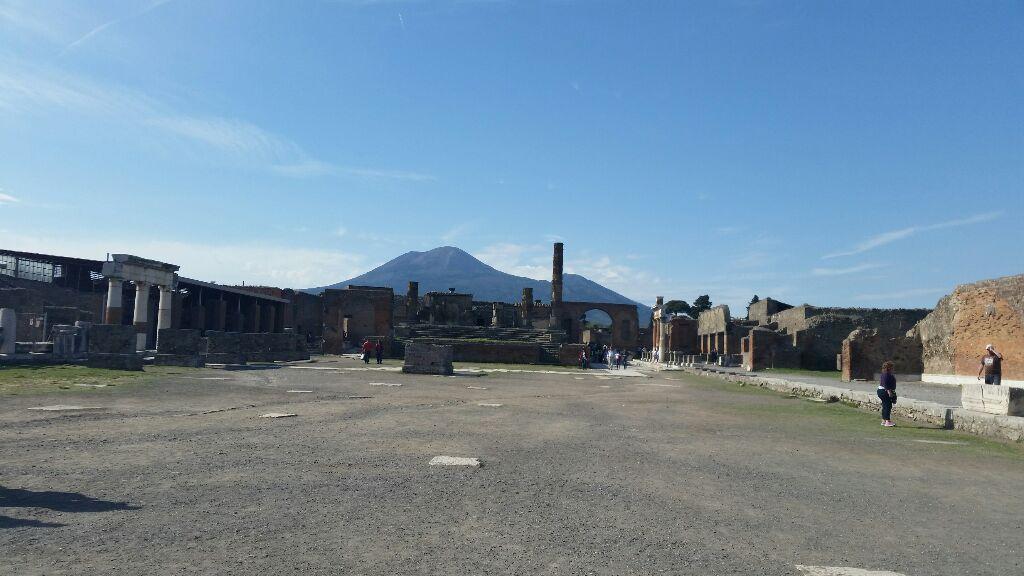Vesuv-Pompeji
