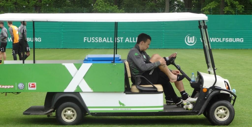 Schon vor der Ligapartie gegen den BVB hatte sich Perisic am Fuß verletzt.