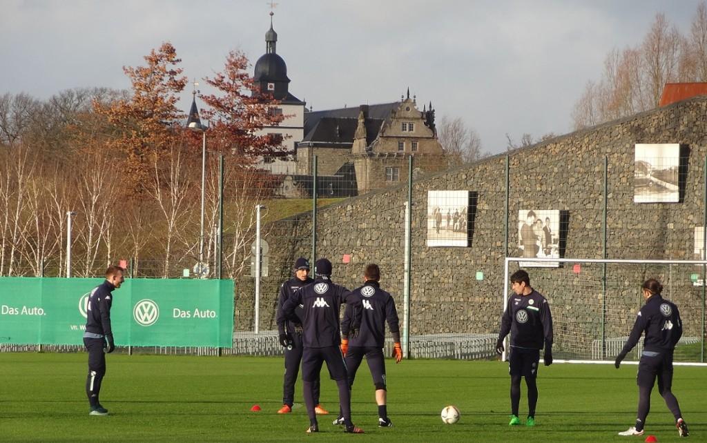 Schloss-Training