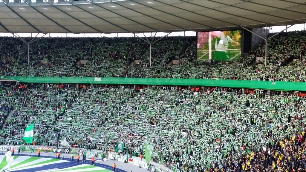 Pokal-VfL-Wolfsburg-Fans