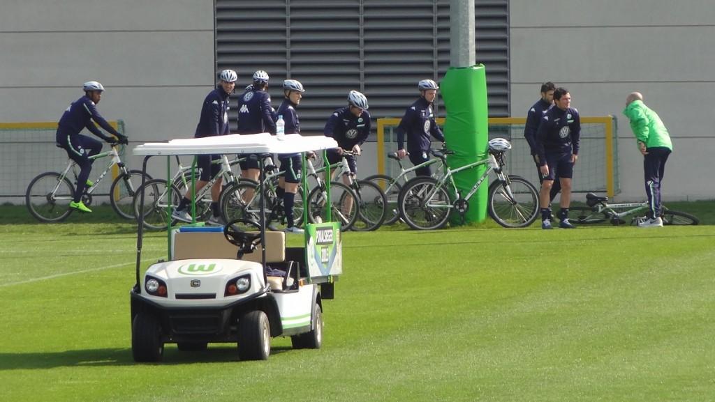 Fahrrad-Team-