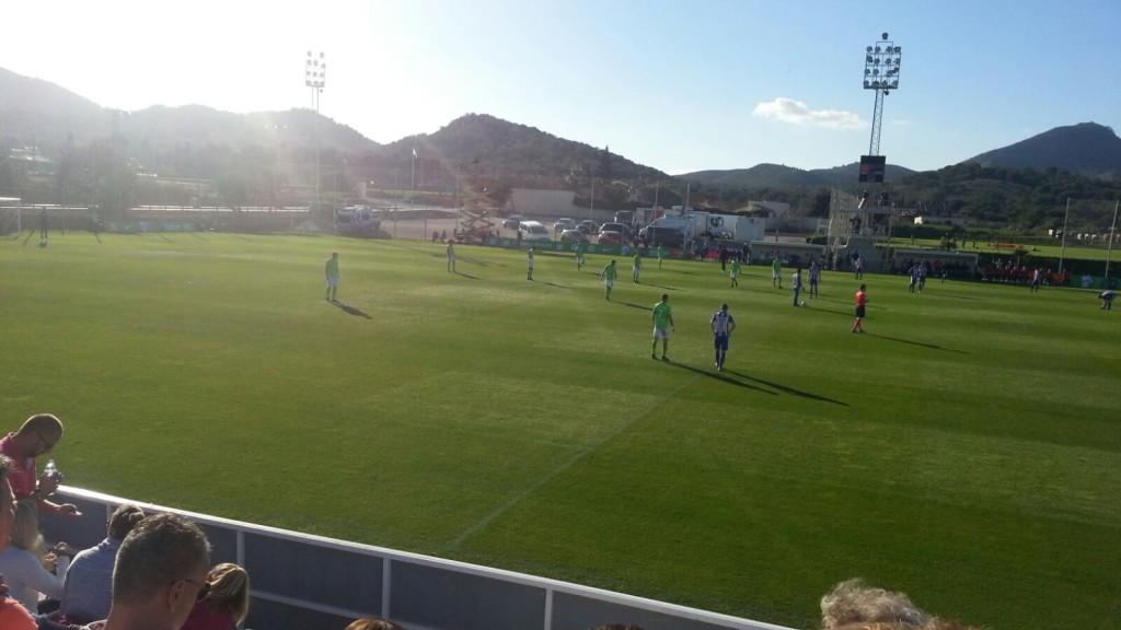 Spiel in La Manga gegen Heerenveen