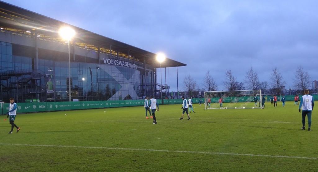 Training-VfL-Stadion-Volkswagen-Arena