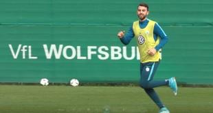 Borja Mayoral vom VfL Wolfsburg