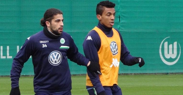 Ricardo Rodriguez und Luiz Gustavo