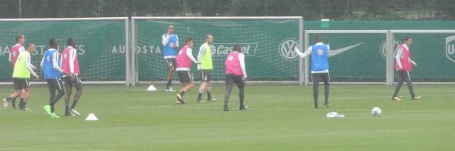VfL-Wolfsburg-Training-Spiel