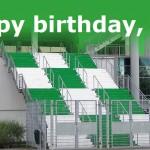 Happy Birthday VfL Wolfsburg Jubiläum Gründung 1945