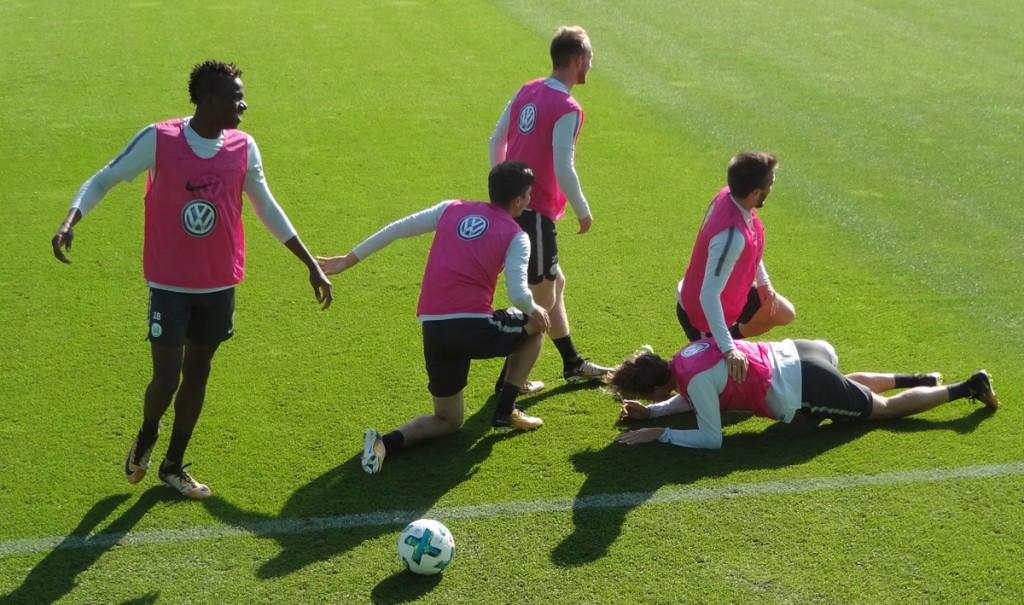 Team-Jubel-VfL-Wolfsburg