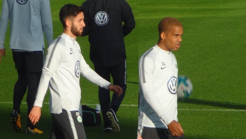Malli und Didavi vfL Wolfsburg