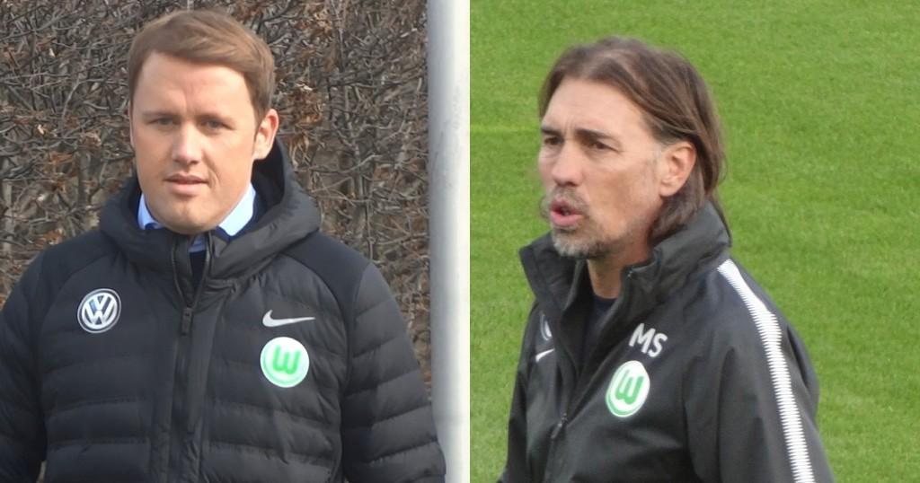 Olaf-Rebbe-und-Martin-Schmidt-vom-VfL-Wolfsburg