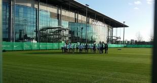 Team-Kreis-Gruppe-Training