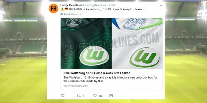 Neues VfL Wolfsburg Trikot 2018 2019