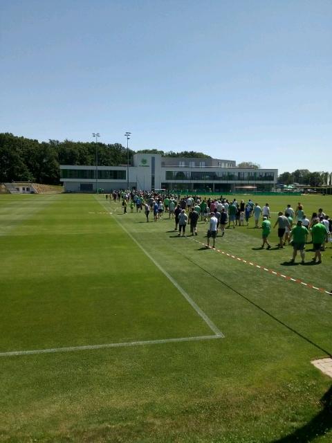 Vfl training fans