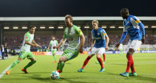 VfL Wolfsburg testet gegen Holstein Kiel. (Photo by Selim Sudheimer/Bongarts/Getty Images)